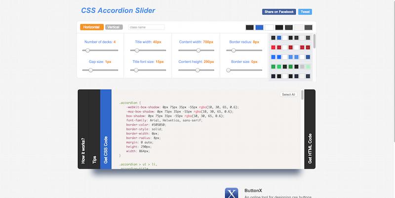 CSS Accordion Slider
