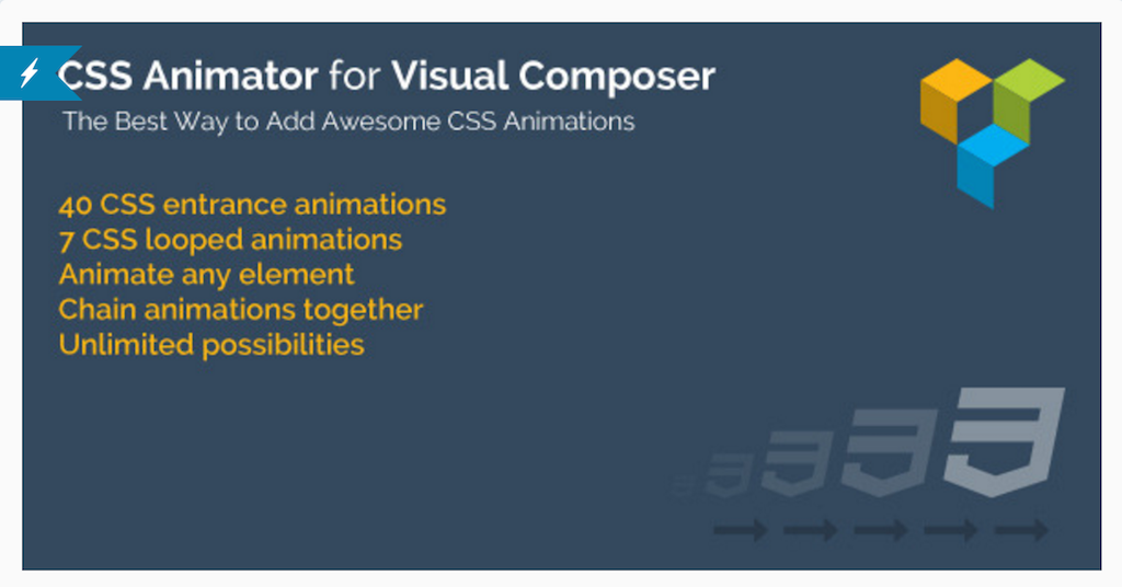 CSS Animator for WPBakery Page Builder WordPress