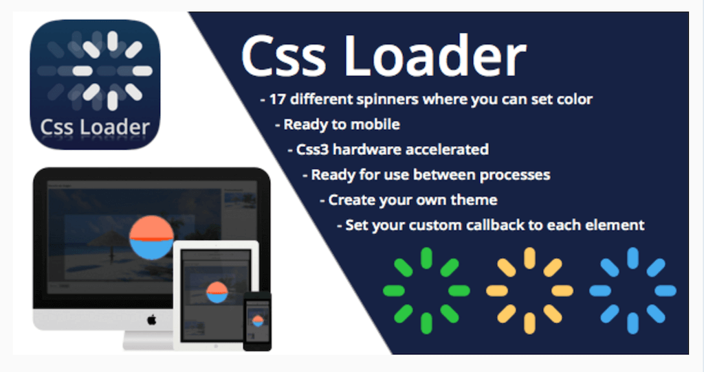CSS3 Loader and Preloader JavaScript CodeCanyon