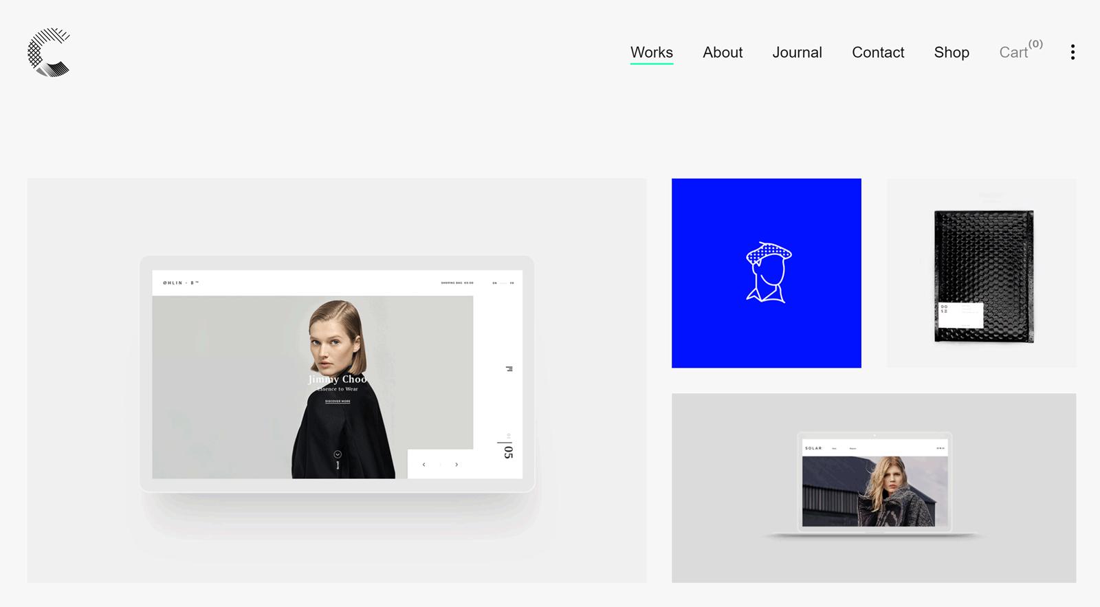 Calafate Theme Homepage