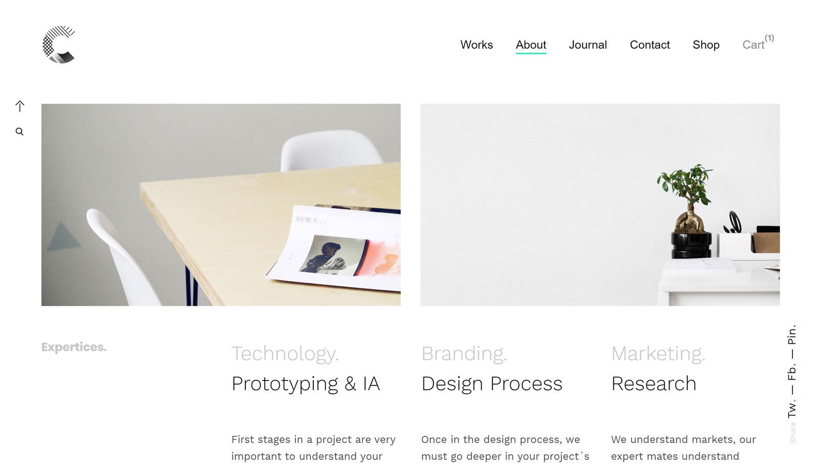 Calafate Studio Homepage