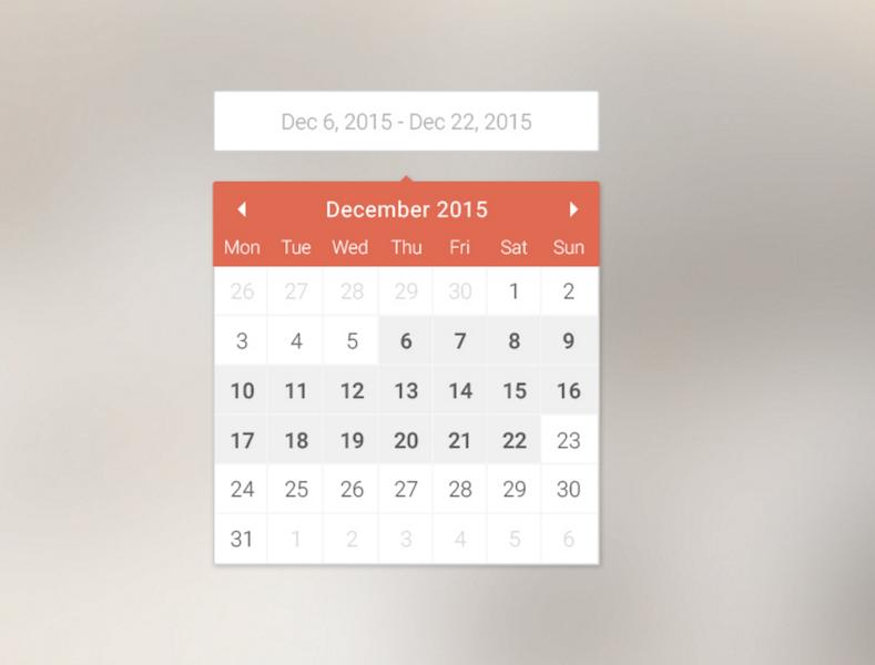 Calendar Sketch