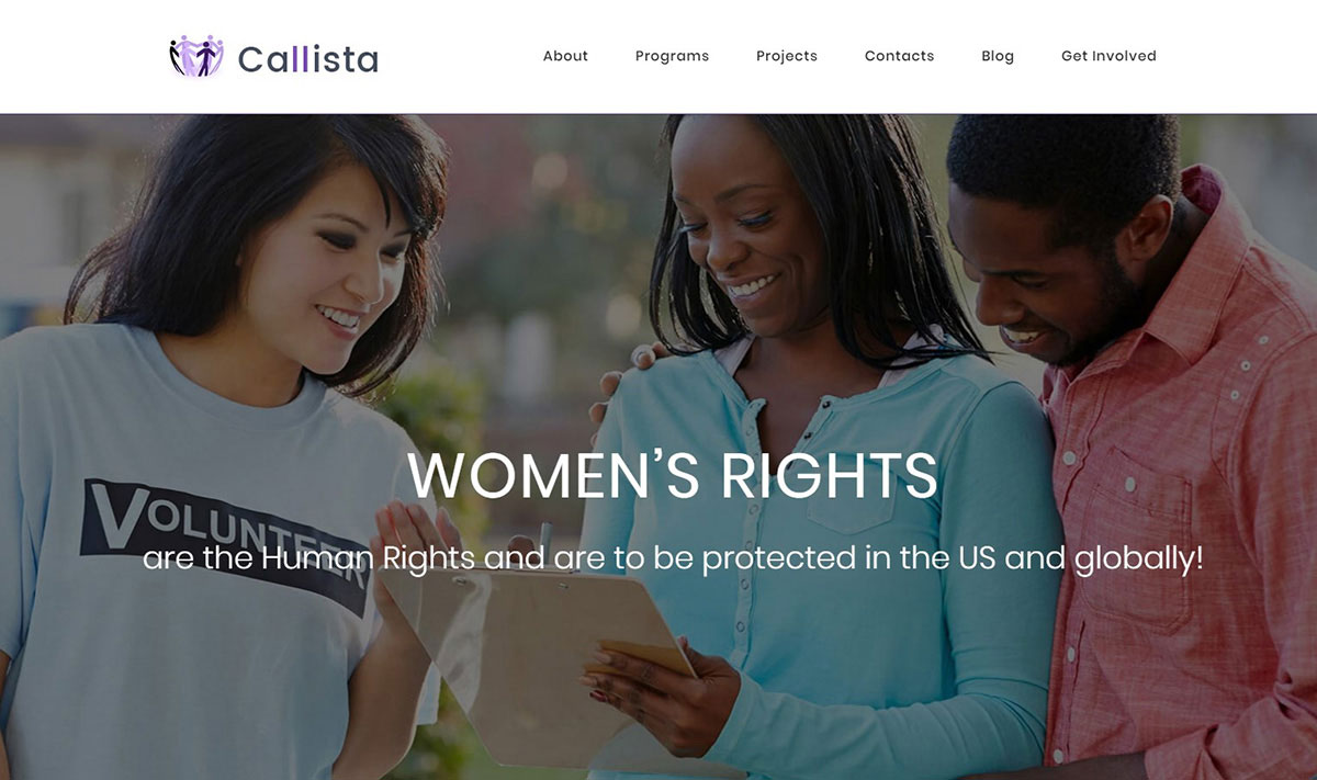 Callista Ngo Website Template image