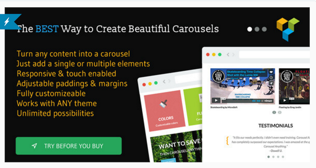 Carousel Anything for WPBakery Page Builder WordPress