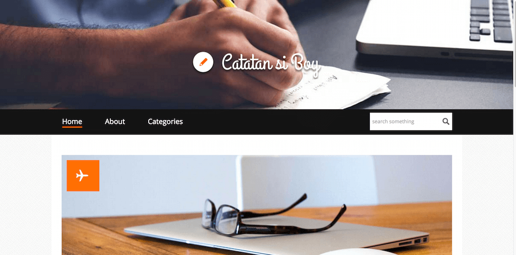 Catatan Si Boy a Bootstrap Website Template Home w3layouts