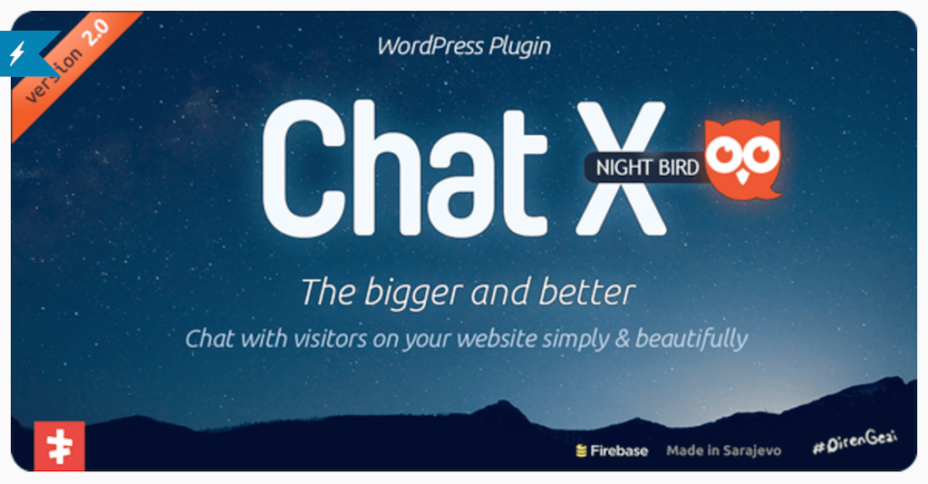 Chat X WordPress Chat plugin for Sales Support WordPress CodeCanyon