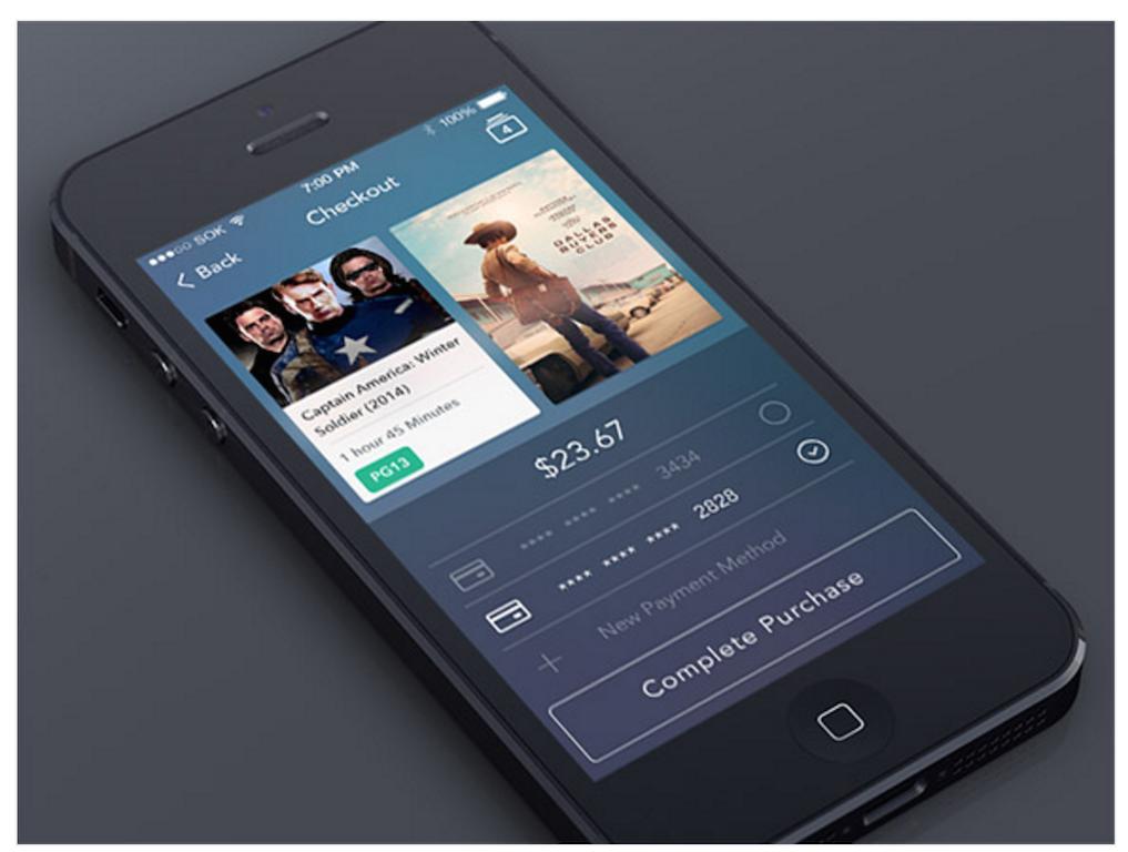 Checkout Screen App