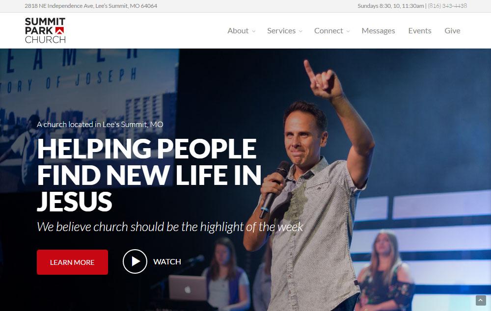 Church Theme Review Design