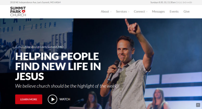Church Theme Review: Create A Church Website With WordPress