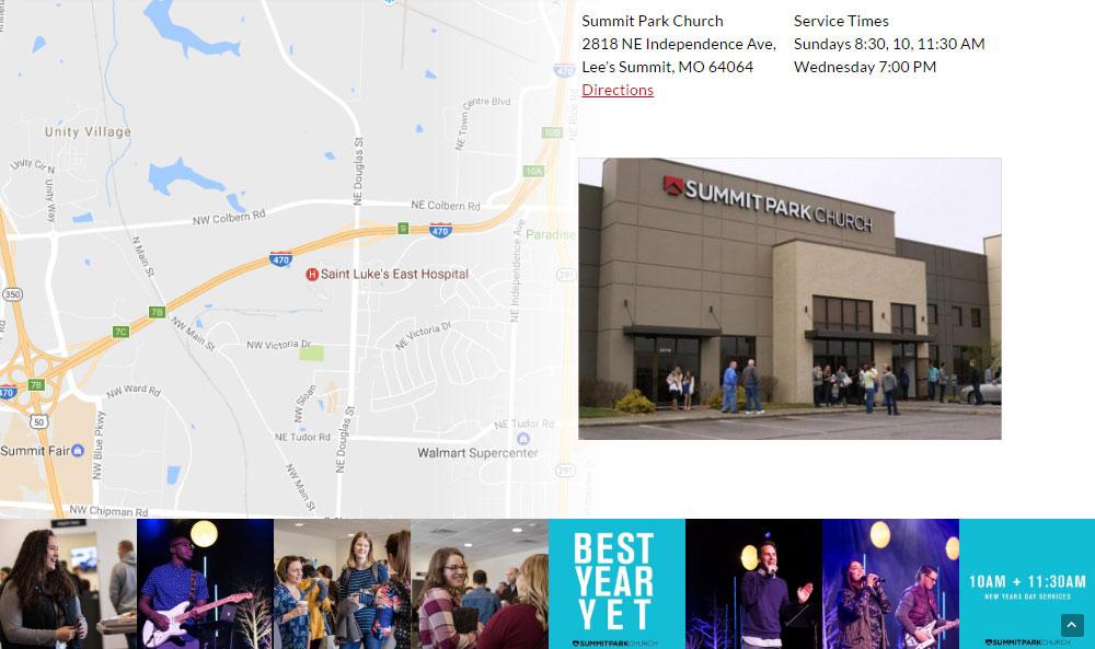 Church Theme Review Map