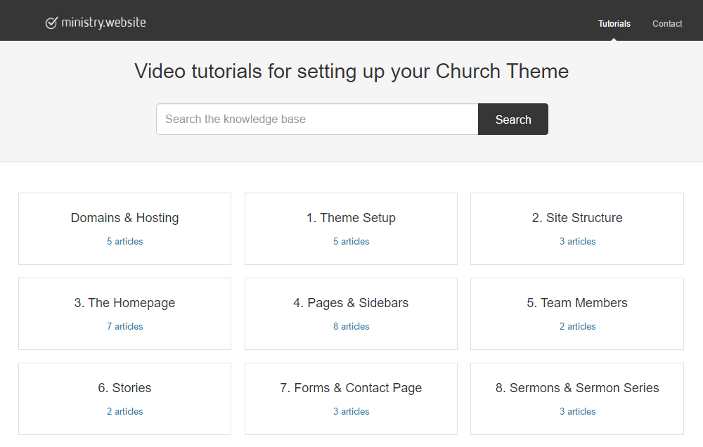 Church Theme Review Videos