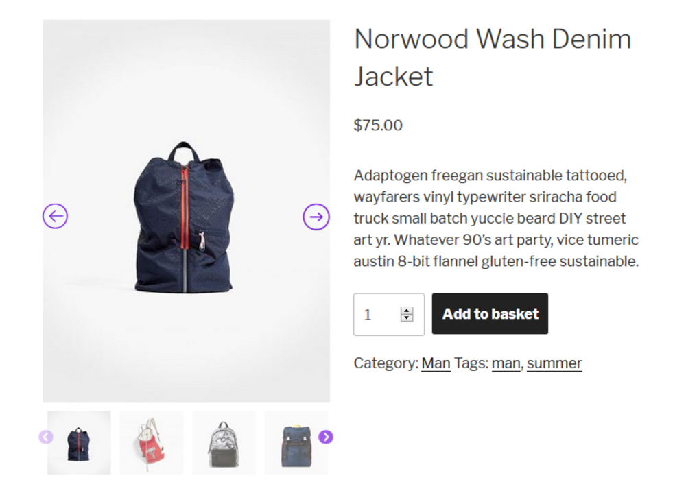 User-Friendly WooCommerce Product Gallery Slider