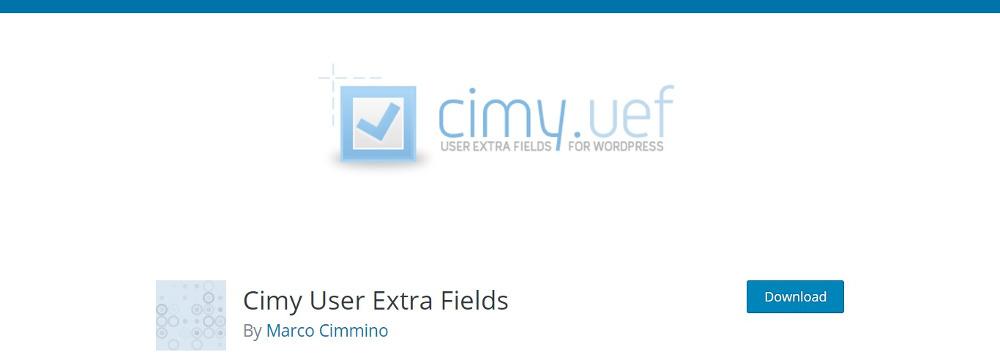 Cimy Extra Fields
