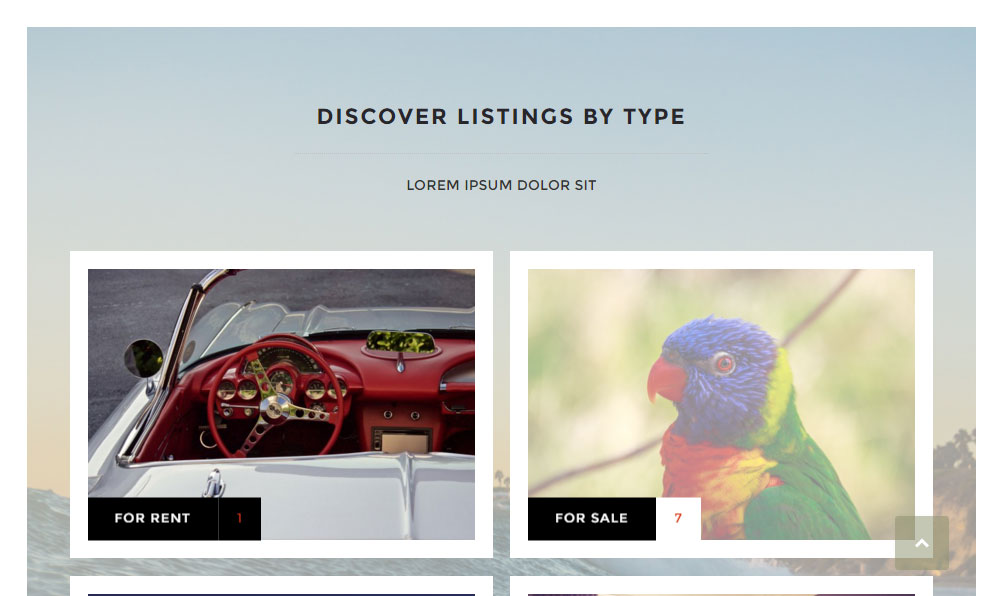 ClassyAds WordPress Theme Review Browse Listings