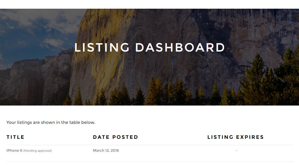 ClassyAds WordPress Theme Review Dashboard