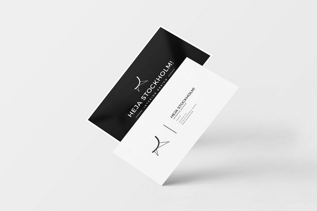Clean Business Cards by CreativeBooster