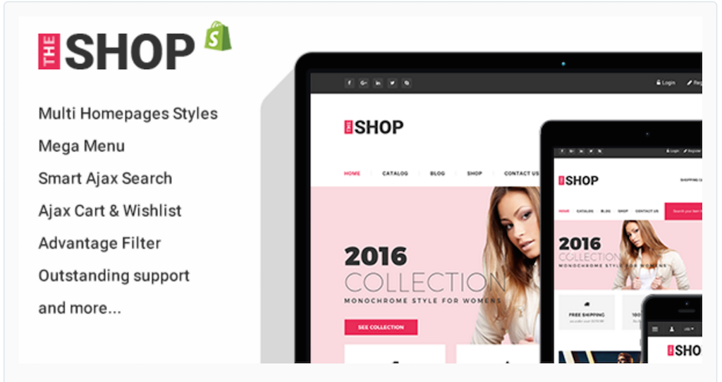 Top Best Free Best Shopify Themes For Your Online Store - Shopify design templates