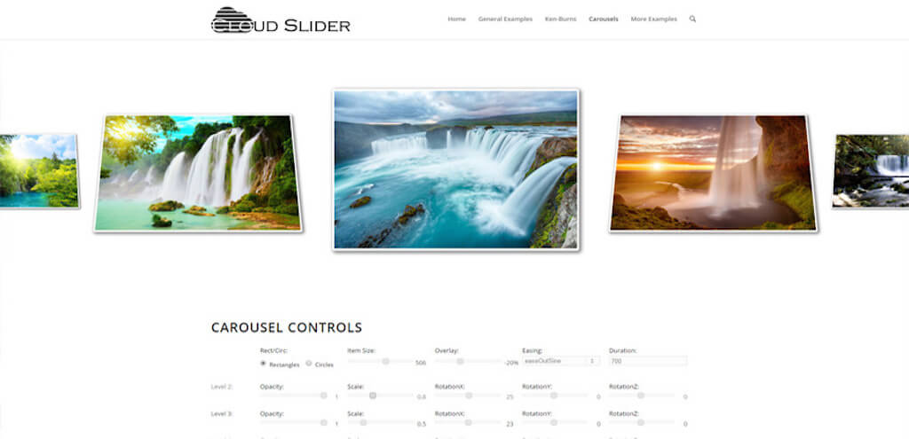 Cloud Slider