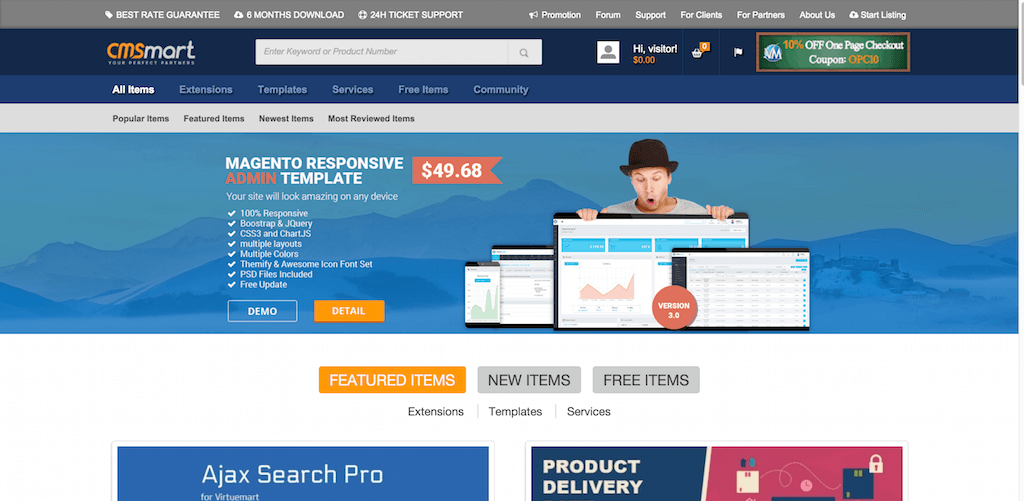 Cmsmart Marketplace for Magento and Virtuemart with Best Price