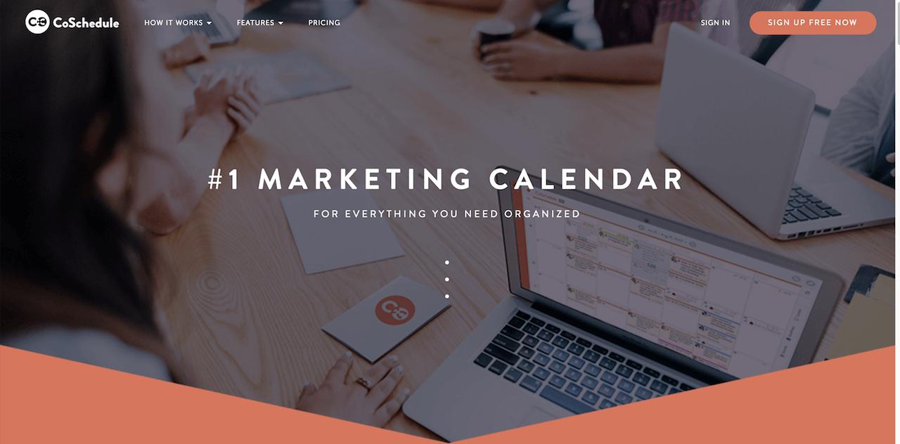 CoSchedule - marketing calendar