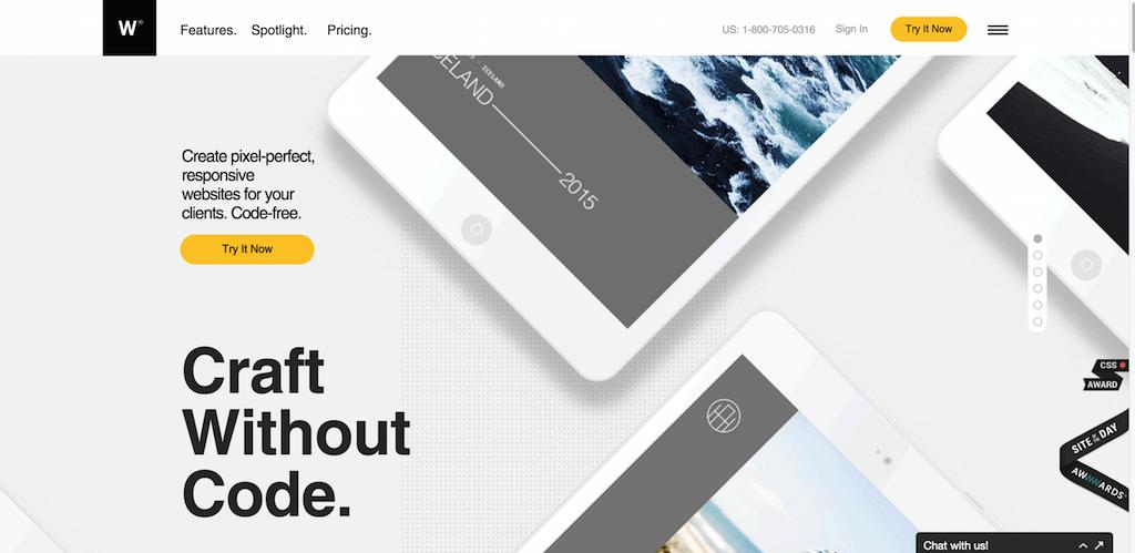 Code Free Responsive Website Design Software Webydo