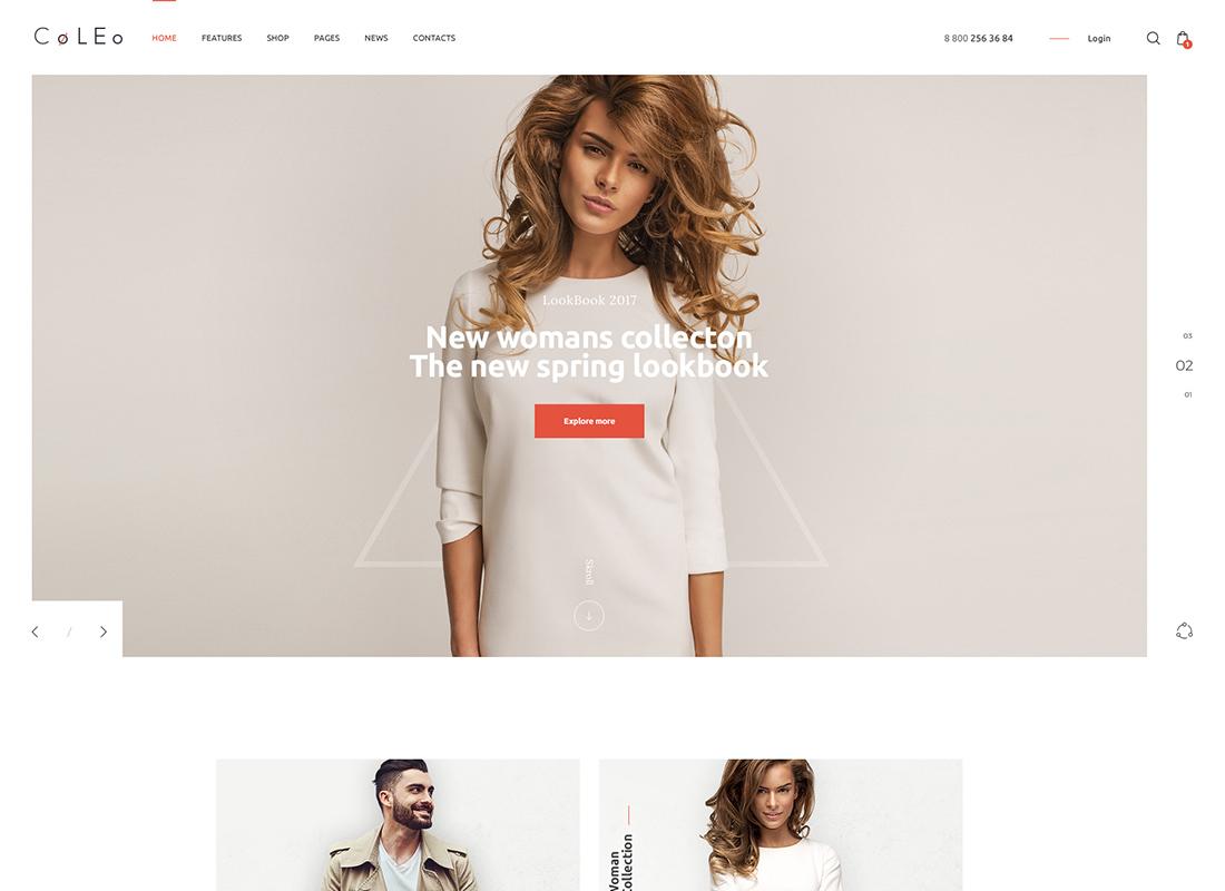 Coleo | A Stylish Fashion Clothing Store WordPress Theme