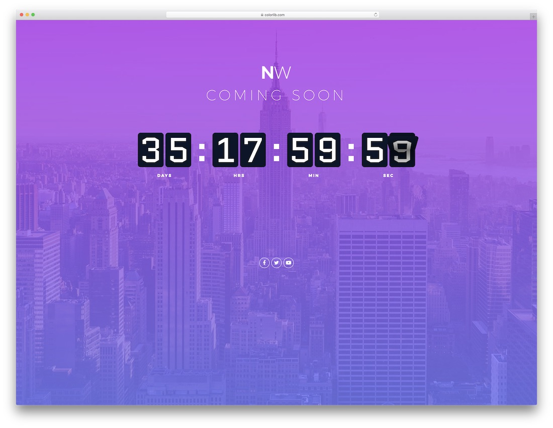 23 Free Under Construction & Coming Soon Website Templates 2019