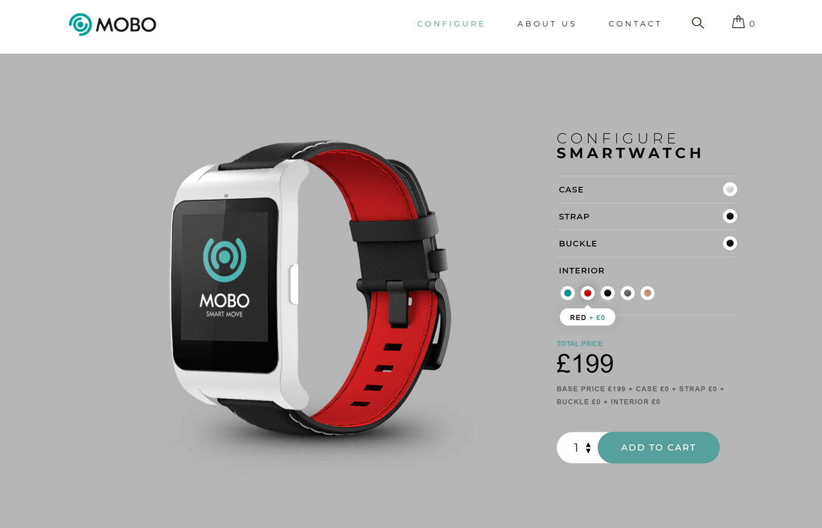 Smartwatch Product Demo