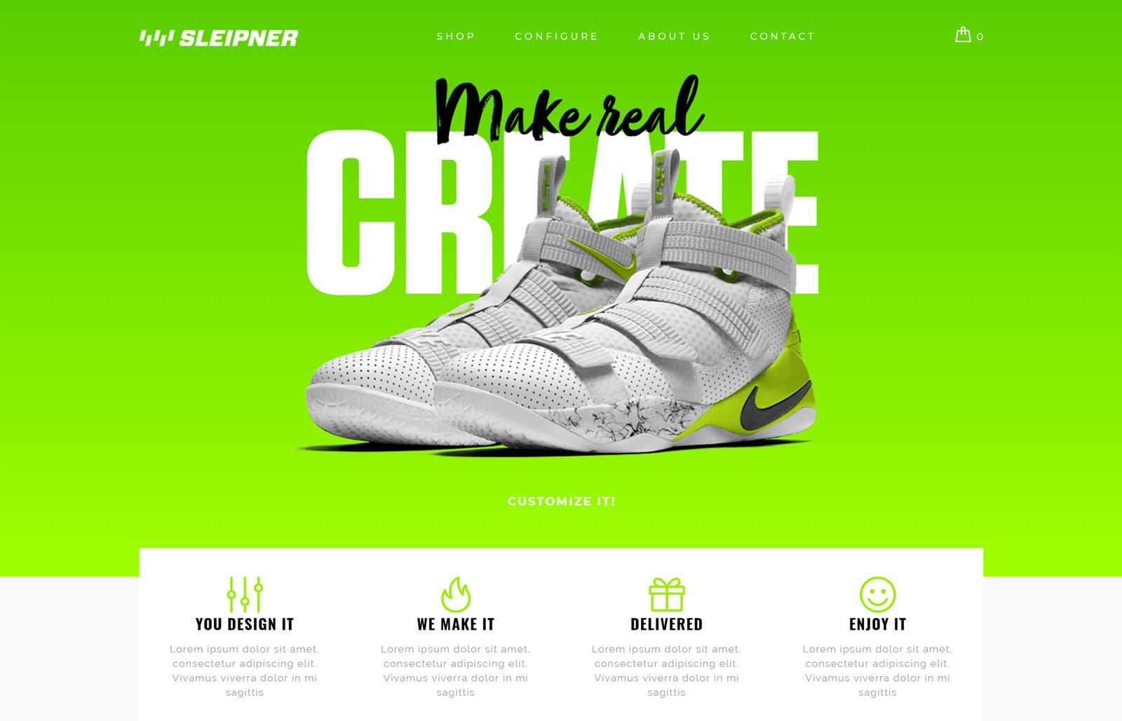 Configurator Sneaker Demo