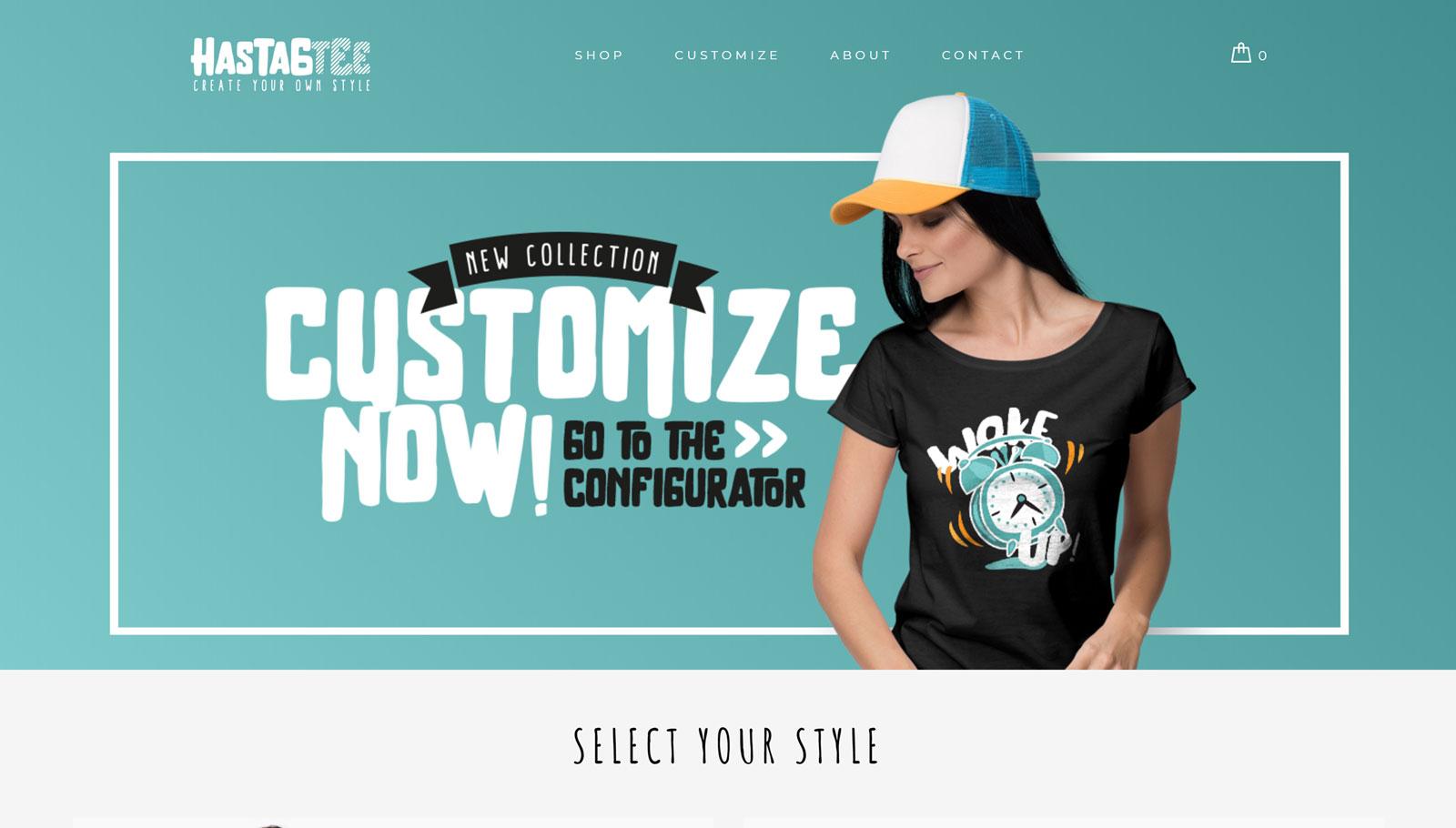 T-Shirt Store Demo