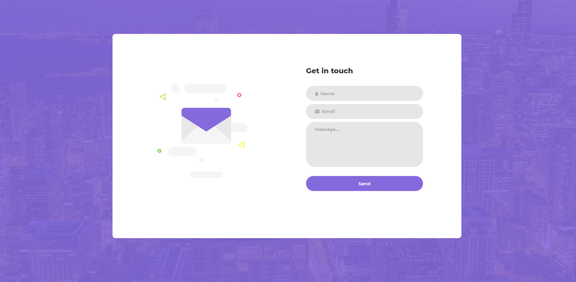 20 Best Modern Creative Free Inquiry Form Templates Colorlib