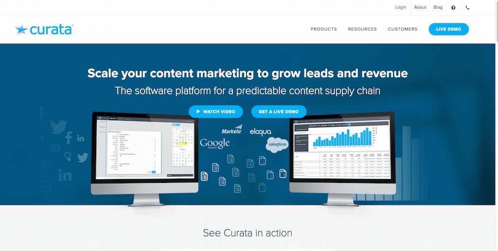 Content Curation Content Marketing Platform Curata