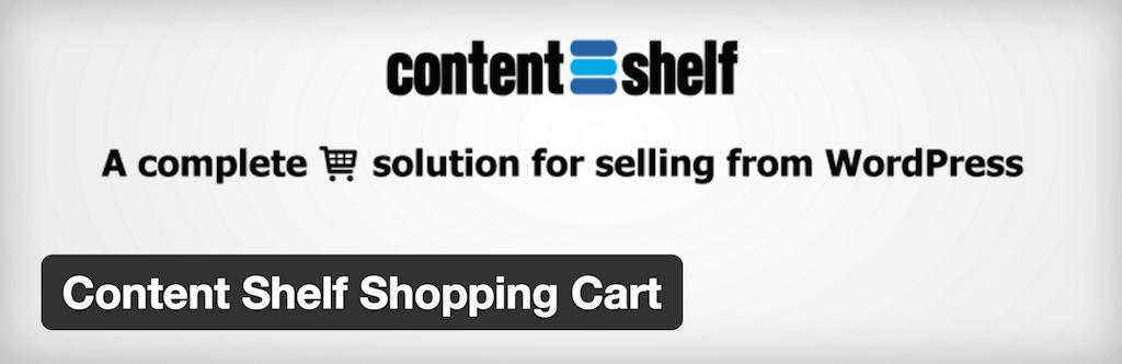 Content Shelf Shopping Cart — WordPress Plugins