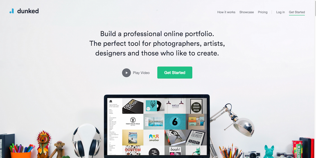 Create An Online Portfolio Website Dunked
