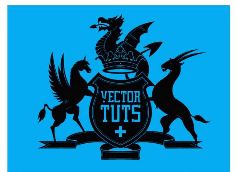 Create a Classic Vector Crest Logo