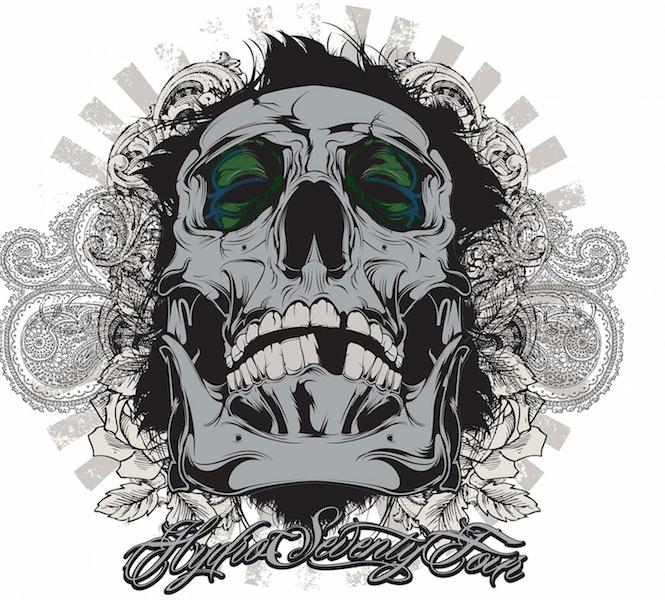 Create awesome vector skull art