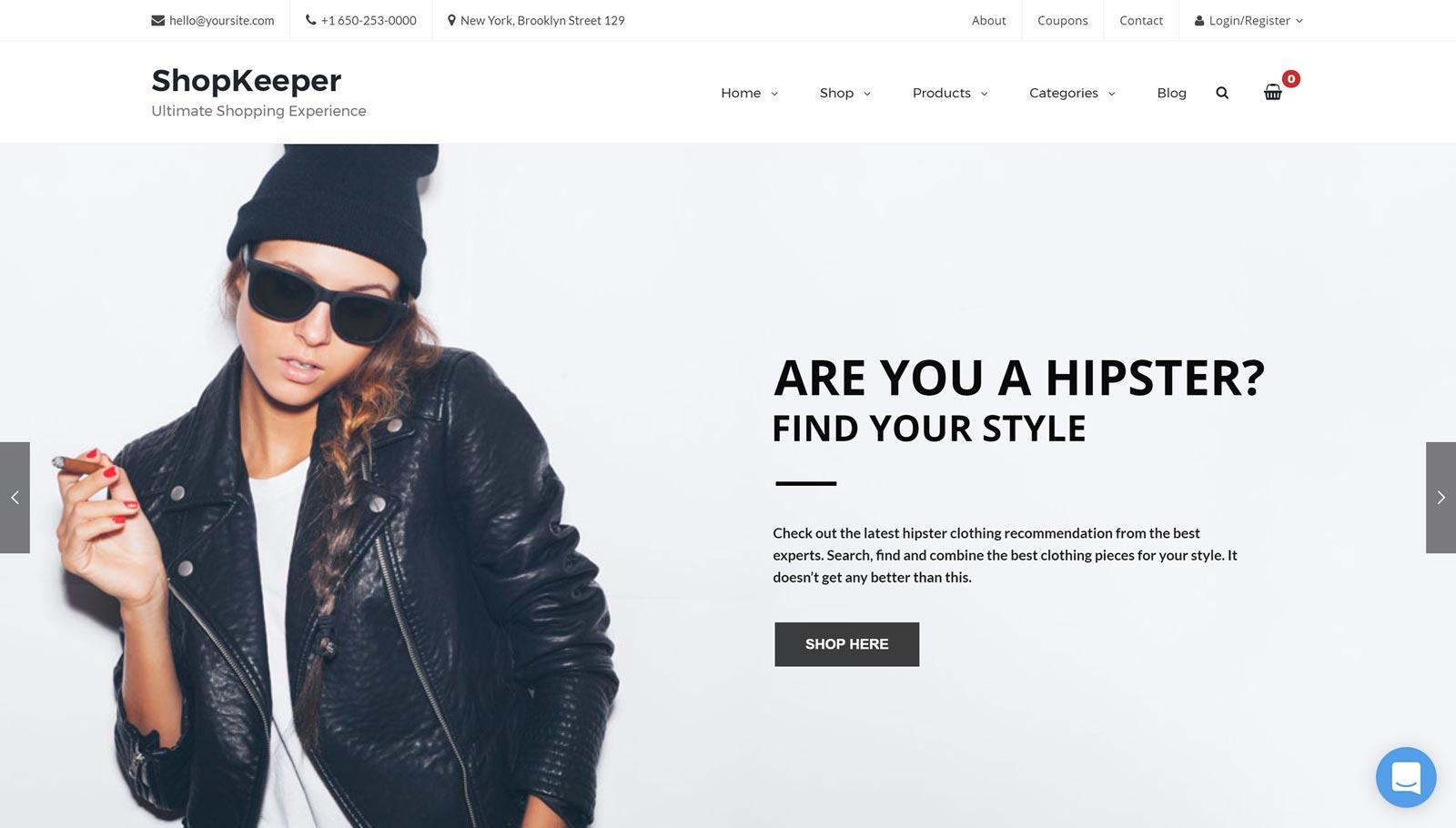 WordPress Ecommerce Demo
