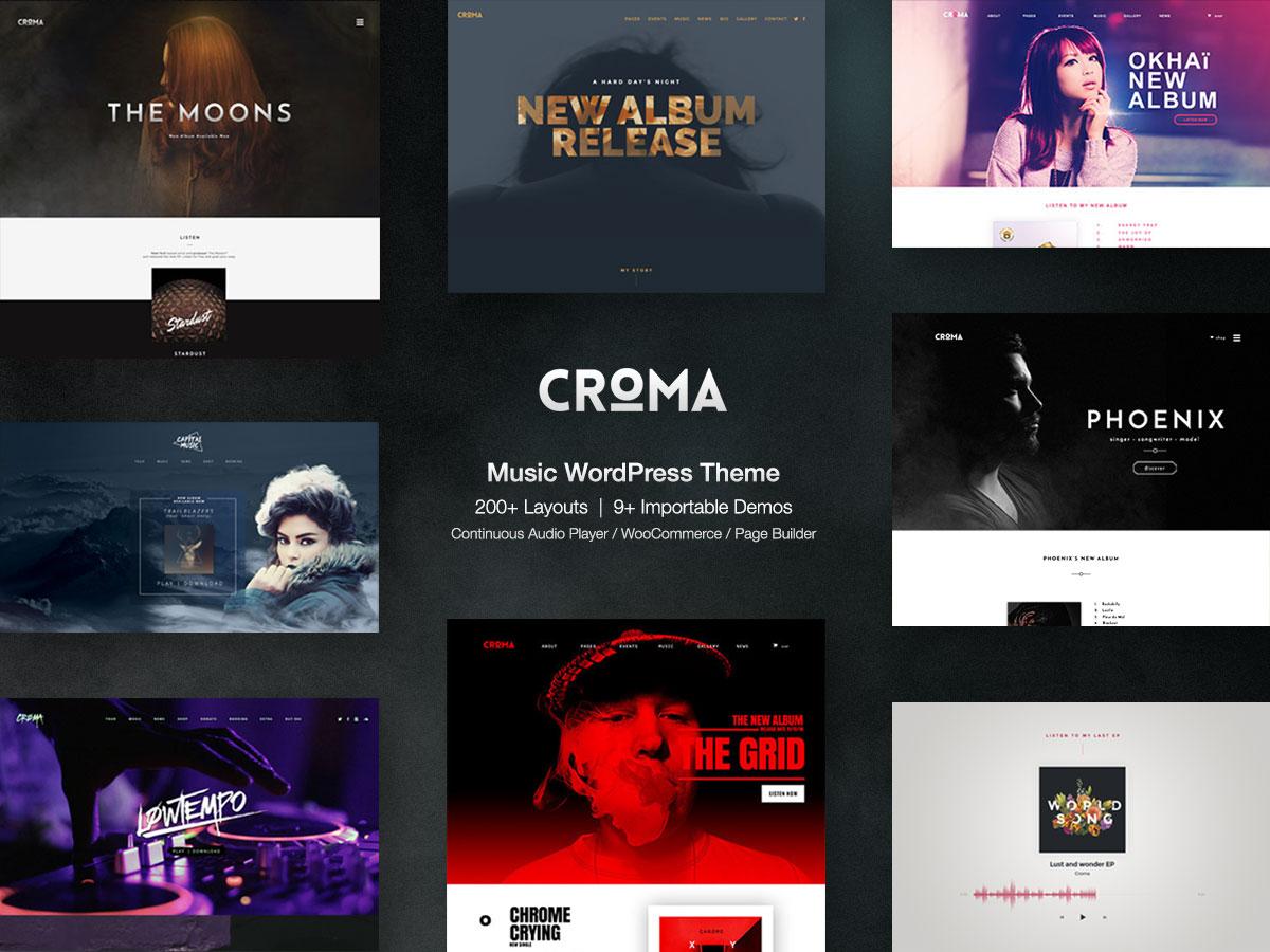 wordpress music theme