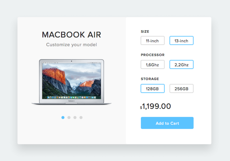 Customize Product UI Kit