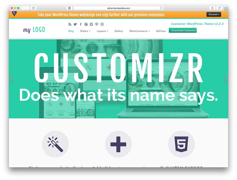 Customizr Multipurpose theme