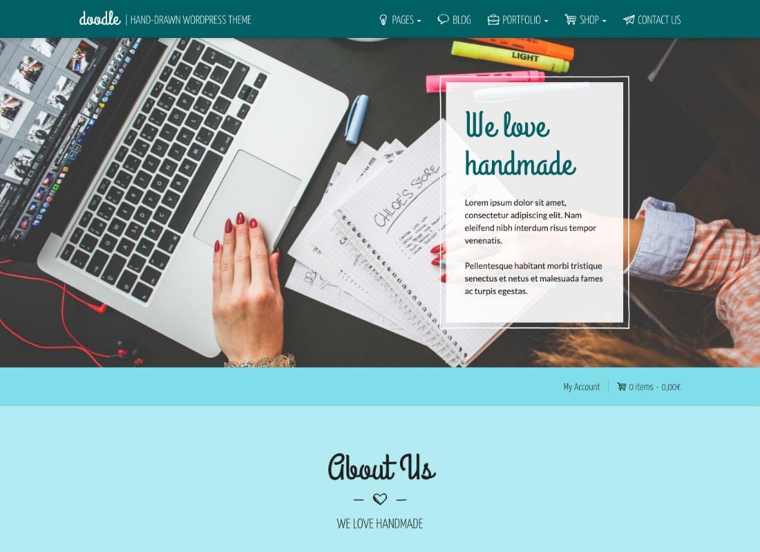 DOODLE | WordPress Theme for Handmade and Artisan Goods