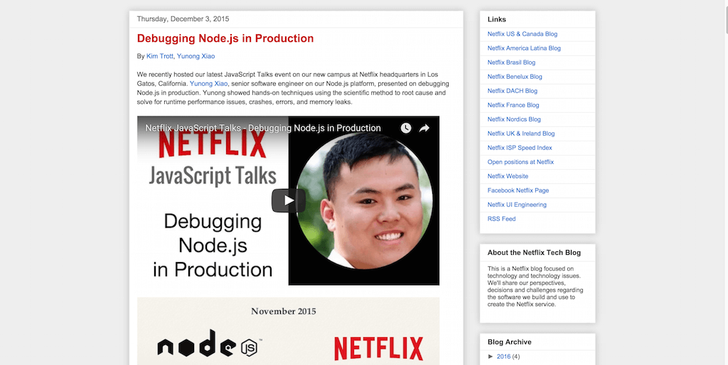 Debugging Node.js in Production
