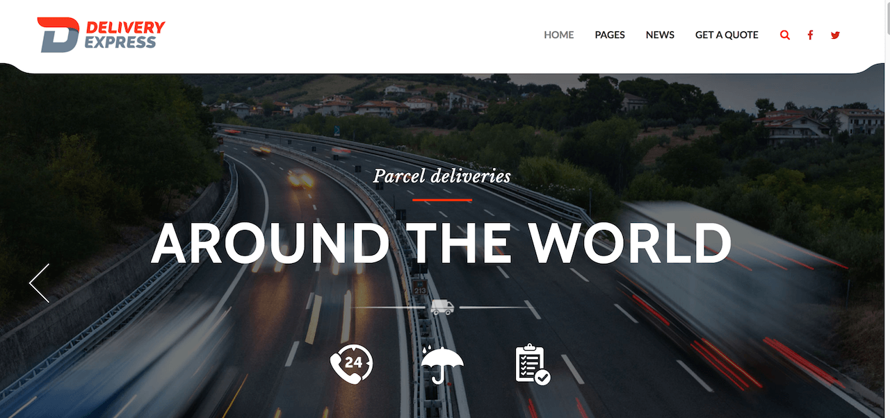 Delivery Express – Just another Cargo Theme Sites site