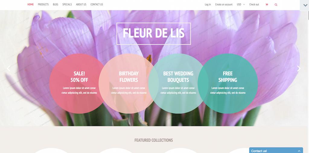 Demo for Fleur de lis Shopify Theme Shopify Theme 53602