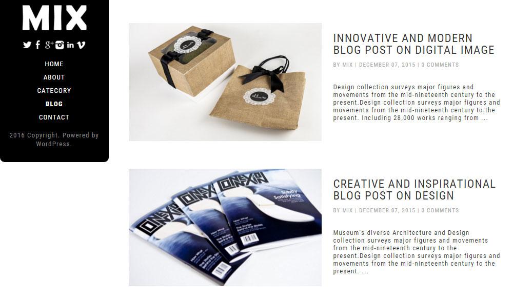 Dessign Multimedia Mix Blog