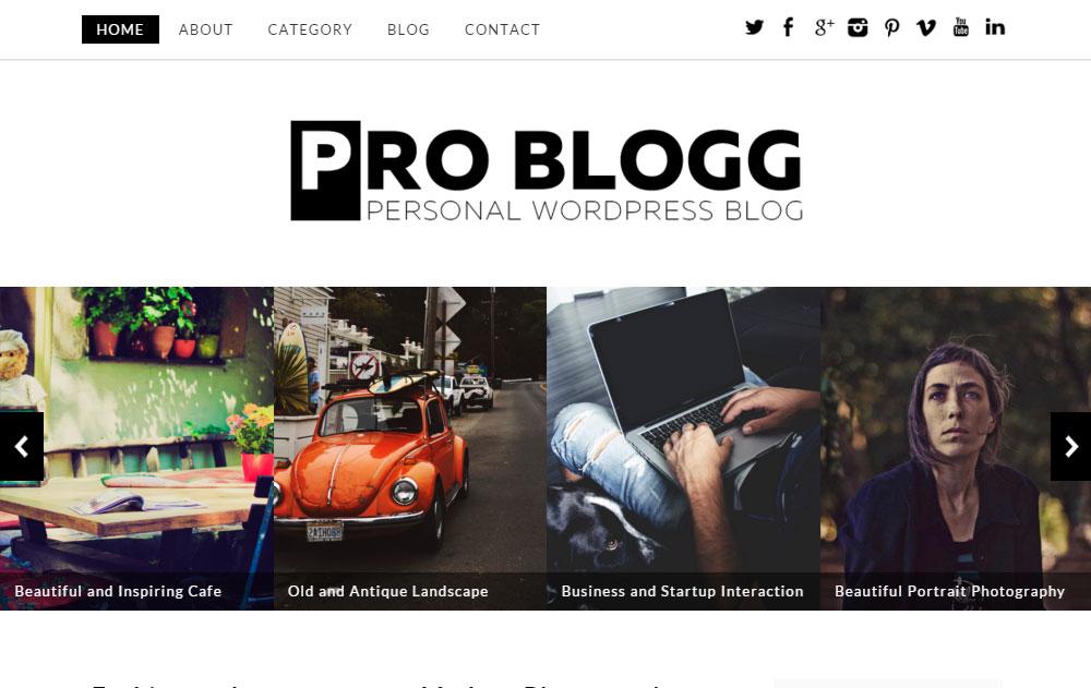Dessign Problogg Theme