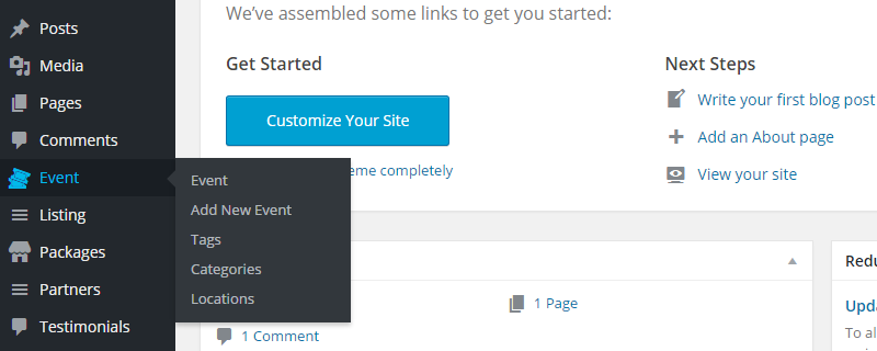 Directory Builder Review Custom Post Types