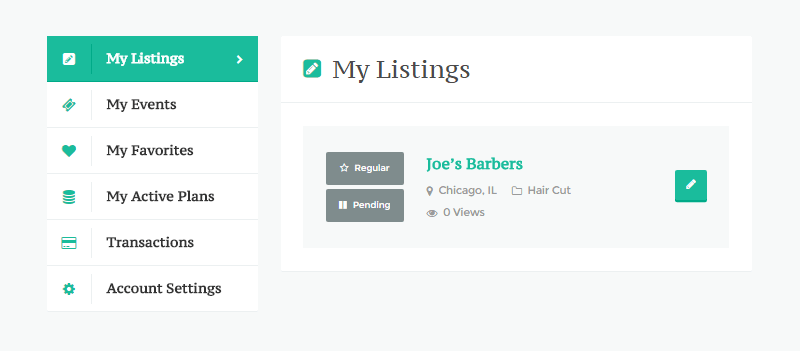 Directory Builder Review Manage Listings