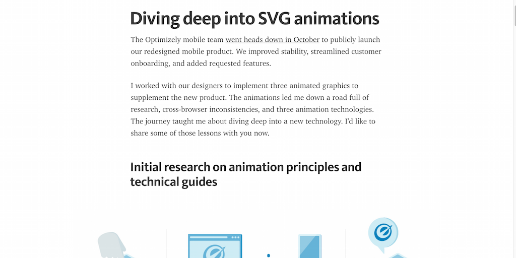 Diving deep into SVG animations