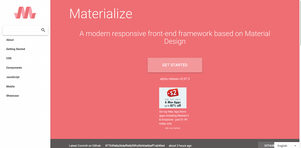 Documentation Materialize